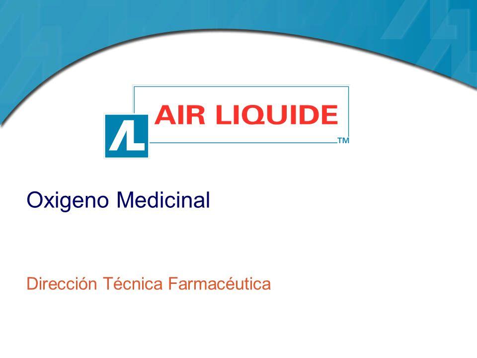 Oxigeno Medicinal Dirección Técnica Farmacéutica