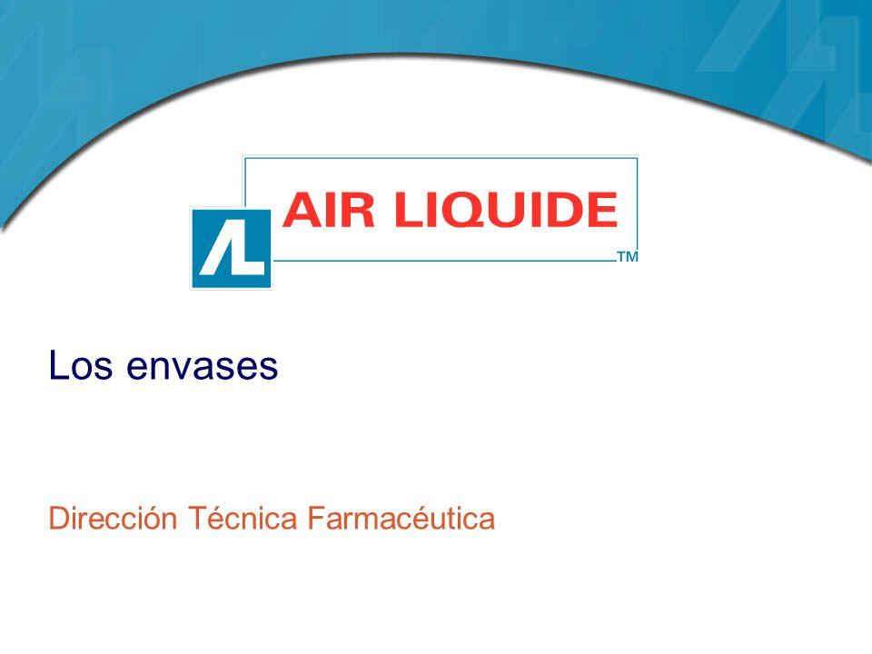 Envases y aplicaciones En mezclas anaerobias de difusión pulmonar Gas portador en cromatografia gaseosa Detectores de captura de electrones o de conductividad térmica Como gas de purga en técnicas de quimioluminiscencia y espectrofotometria de absorción atómica.