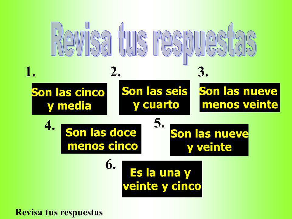 Classroom activities En los Apuntes: Unscramble the following sentences: 1.