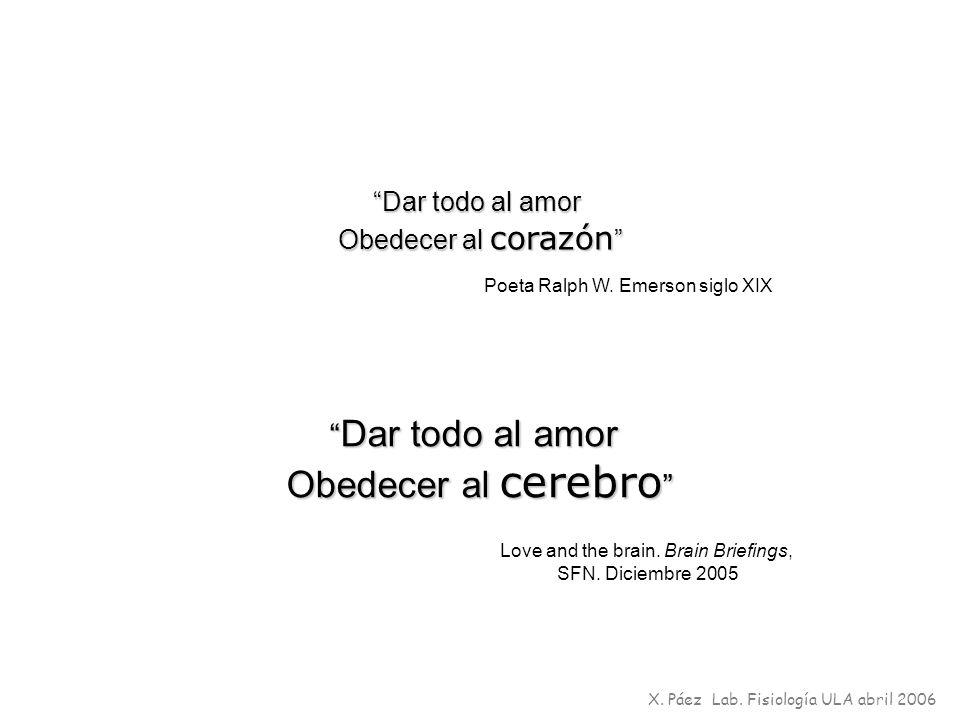Dar todo al amor Obedecer al corazón Obedecer al corazón Poeta Ralph W. Emerson siglo XIX Dar todo al amor Dar todo al amor Obedecer al cerebro Obedec