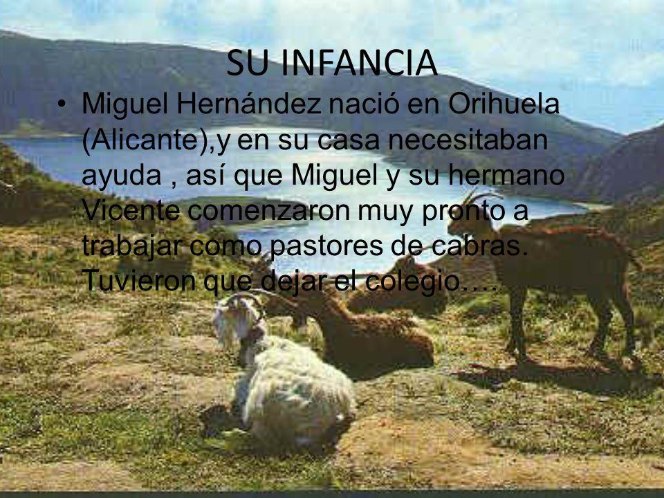 MIGUEL HERNAN DEZ PASTOR DE SUEÑOS