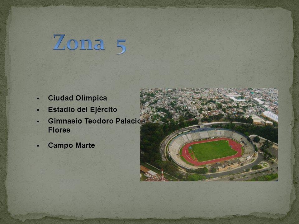 Ciudad Olímpica Estadio del Ejército Gimnasio Teodoro Palacios Flores Campo Marte