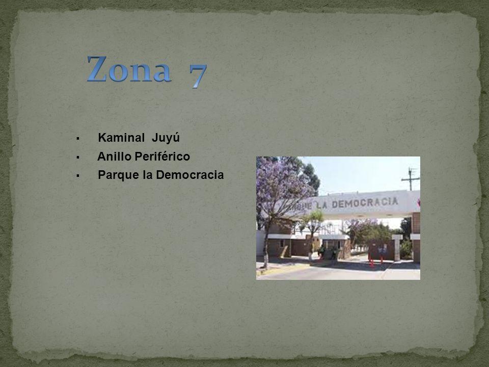 Kaminal Juyú Anillo Periférico Parque la Democracia