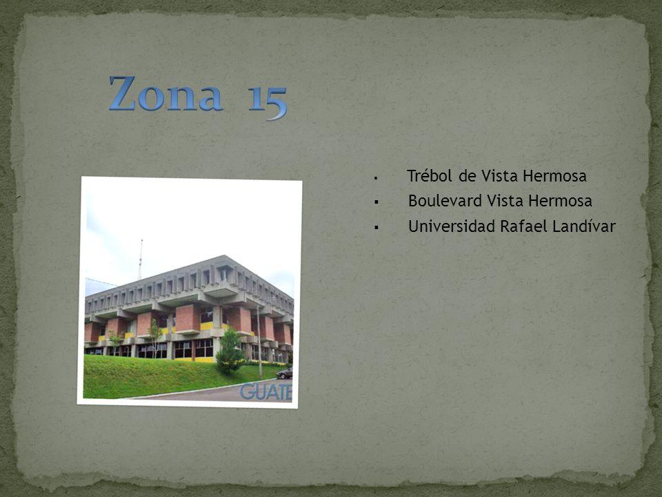 Trébol de Vista Hermosa Boulevard Vista Hermosa Universidad Rafael Landívar