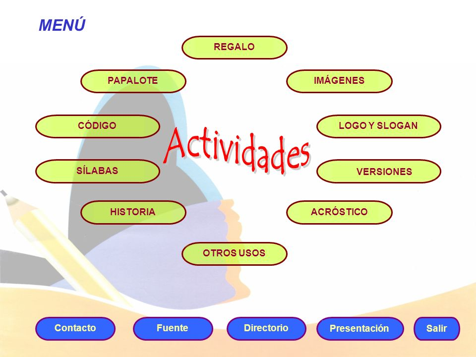 AnteriorSiguiente Salir Actividades Temas Regresar a la actividad 2