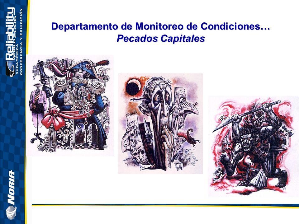 Departamento de Monitoreo de Condiciones… Pecados Capitales