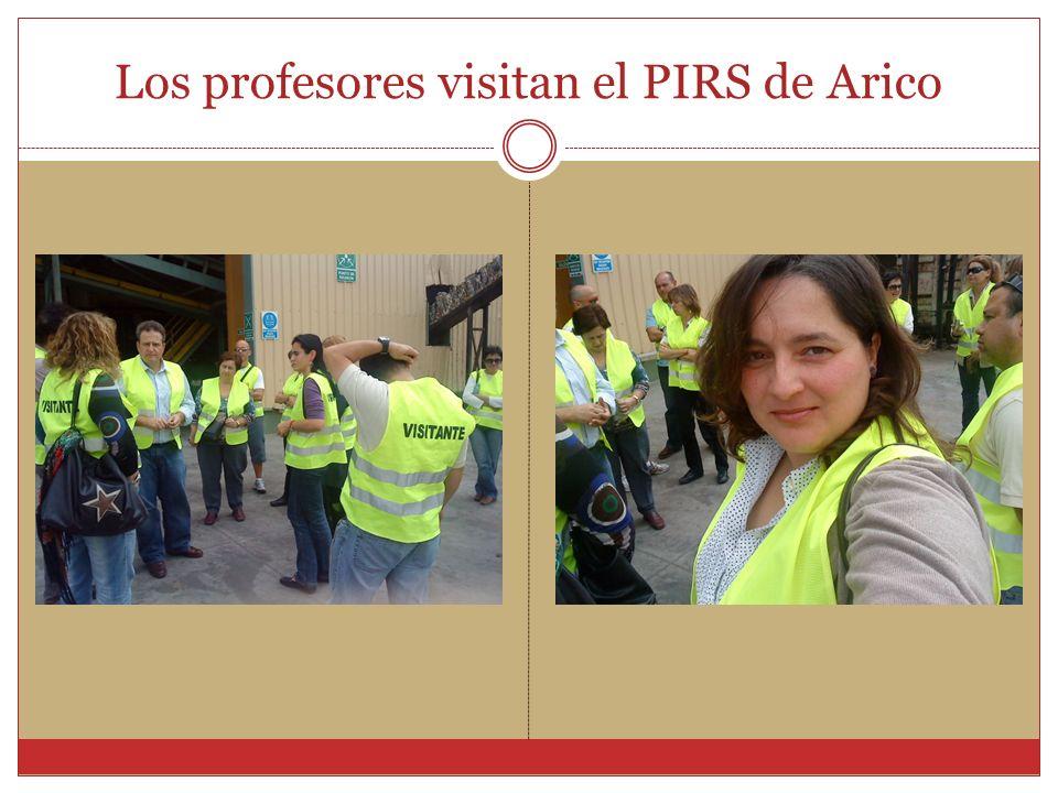 Los profesores visitan el PIRS de Arico