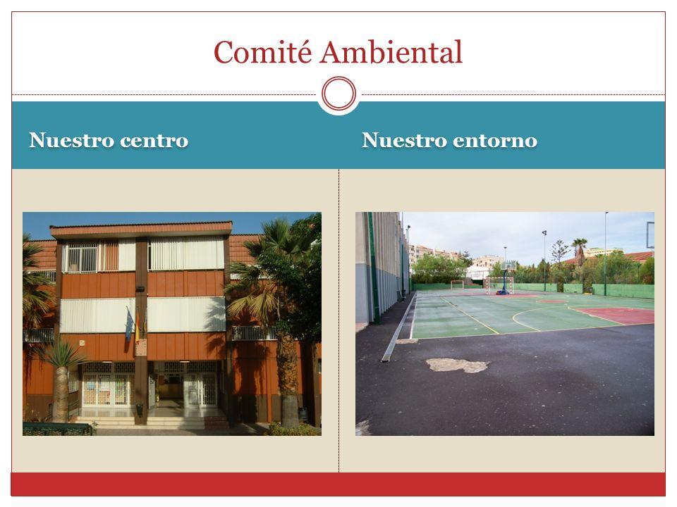 Nuestro centro Nuestro entorno Comité Ambiental