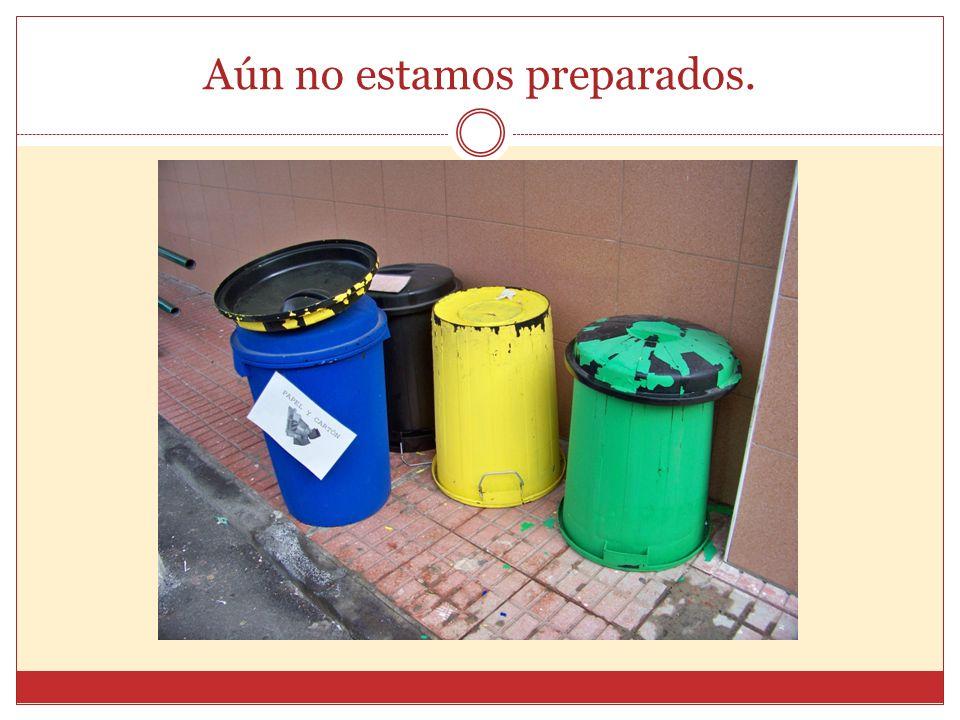 Aquí acaban nuestras lavadoras, las ruedas de nuestros coches, nuestros residuos diarios…