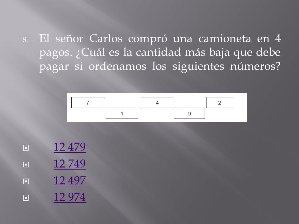 7. Cuatro niños tienen tarjetas con números y deben acomodarlas para formar números de cinco cifras. Observa las tarjetas que tiene cada uno: Ana. Bet