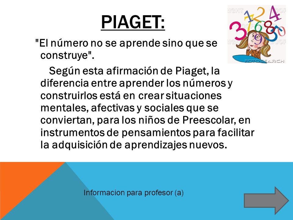 PIAGET: