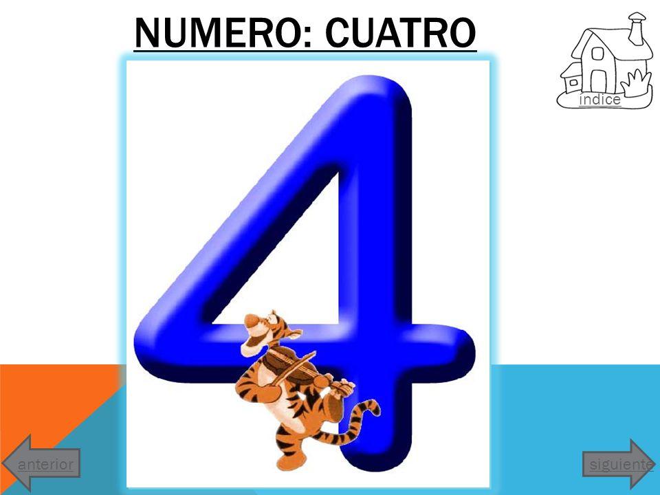 NUMERO: CINCO indice siguienteanterior