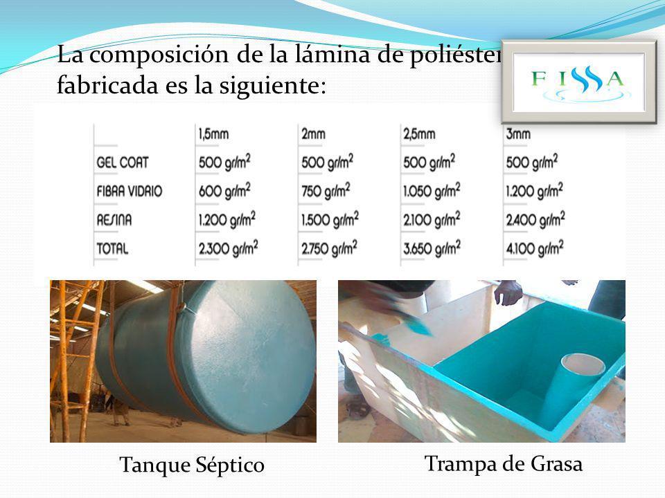 Floculado res para PTAP, de 4mm de espesor y 2.9 m de largo y 2.6 m De alto.