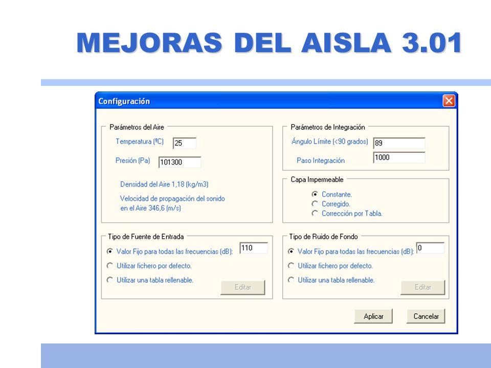 Tabiquería húmeda Medida: 48 dBA Aisla: 48,1 dBA Medida: 48,5 dBA Aisla: 46,2 dBA Datos obtenidos de la página web del fabricante.