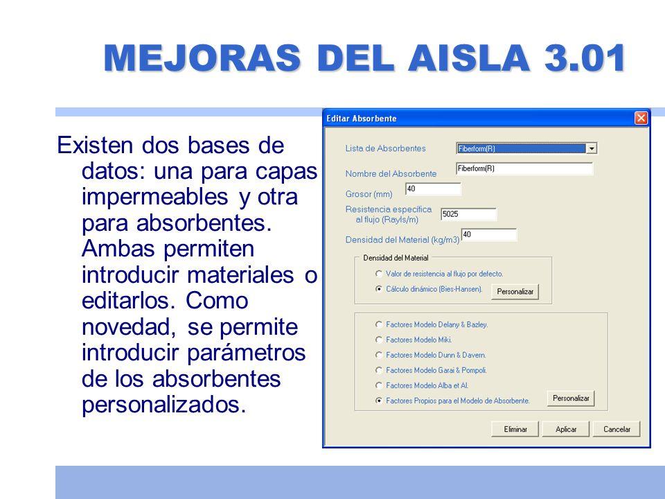 Tabiquería seca Medida: 61,2 dBA Aisla: 59,5 dBA Medida: 53,4 dBA Aisla: 52,7 dBA Datos obtenidos de la página web del fabricante.