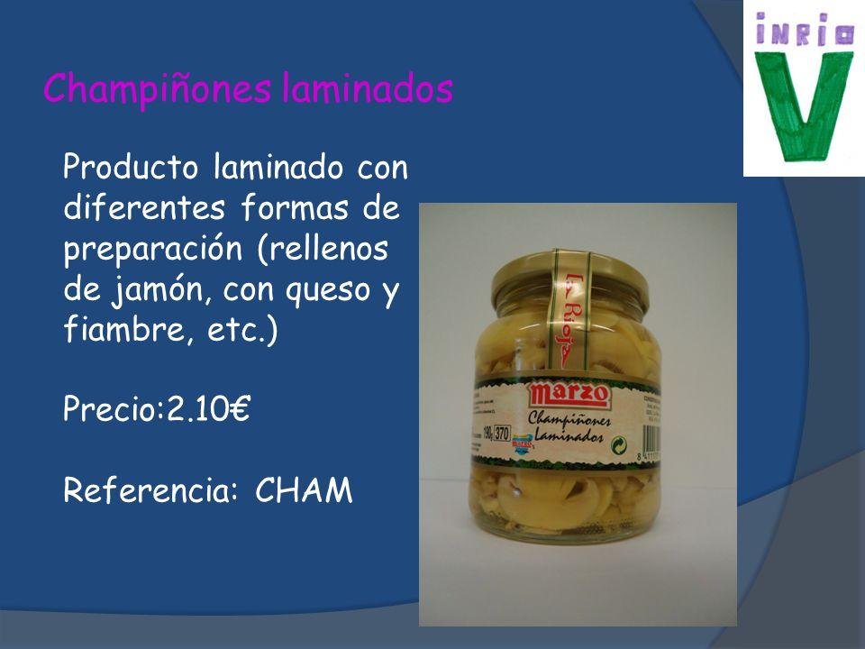 Pepinillos Rio verde Producto típico riojano envasado, con cierto sabor acido.