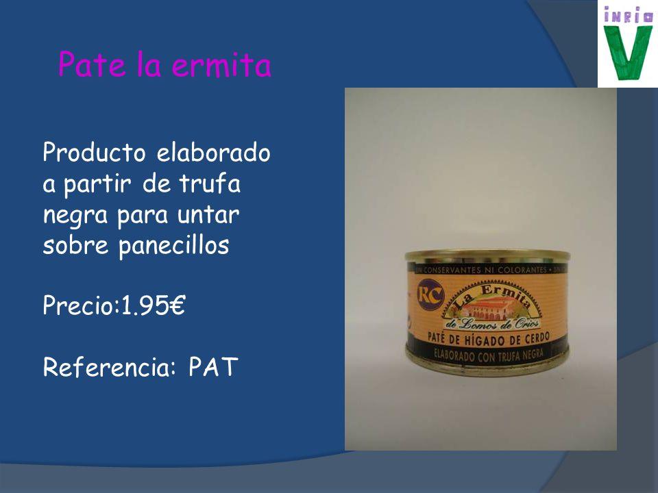 Chorizo Producto típico riojano elaborado a partir de picadillo Precio:3 Referencia: CHZ
