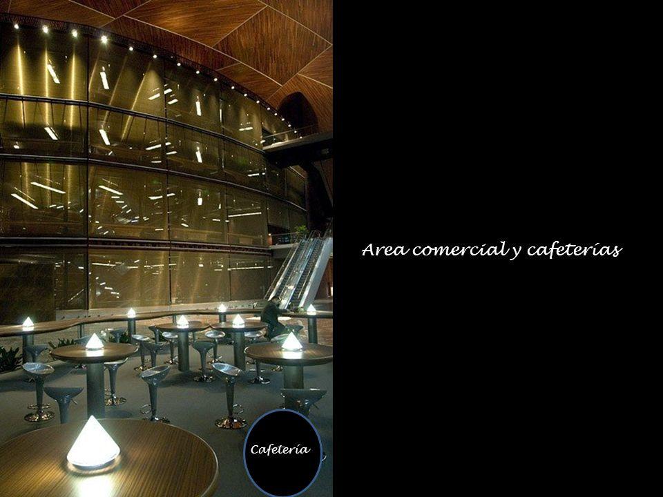 Cafetería Area comercial y cafeterías