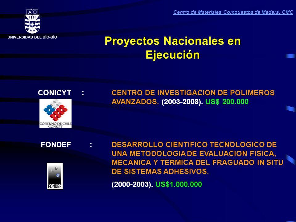 CONICYT :CENTRO DE INVESTIGACION DE POLIMEROS AVANZADOS.