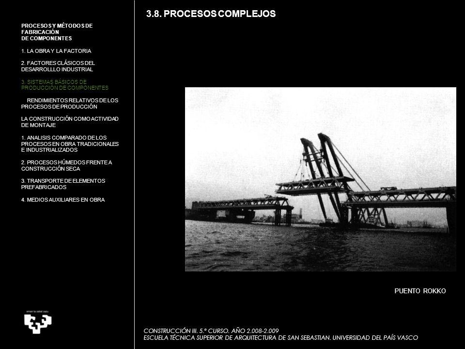 PUENTO ROKKO CONSTRUCCIÓN III.5.º CURSO.