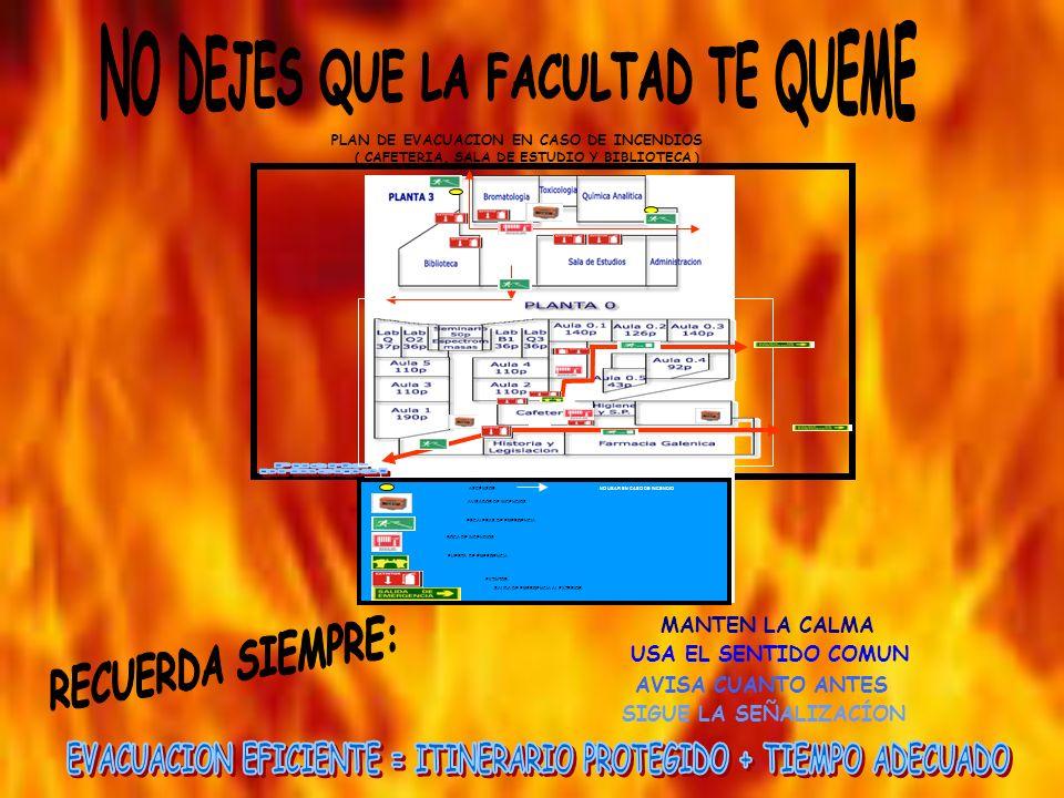 Objetivo: Limitar el efecto y desarrollo de las llamas in situ.