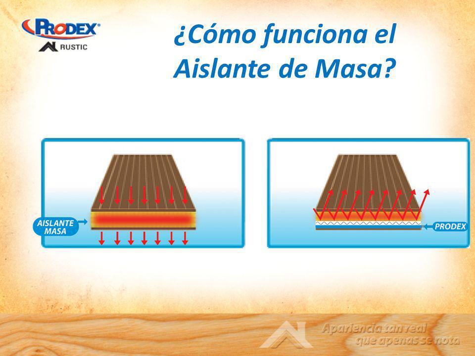 ¿Cómo funciona el Aislante de Masa?