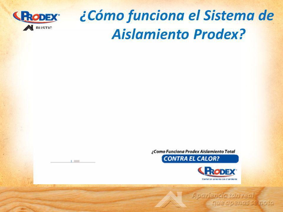 ¿Cómo funciona el Sistema de Aislamiento Prodex?