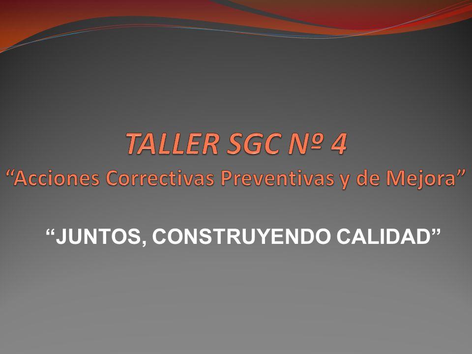 TEMAS DEL TALLER Como diligenciar el formato Control y Tratamiento del Producto y Ensayo No Conforme ( F-8314-17 ).