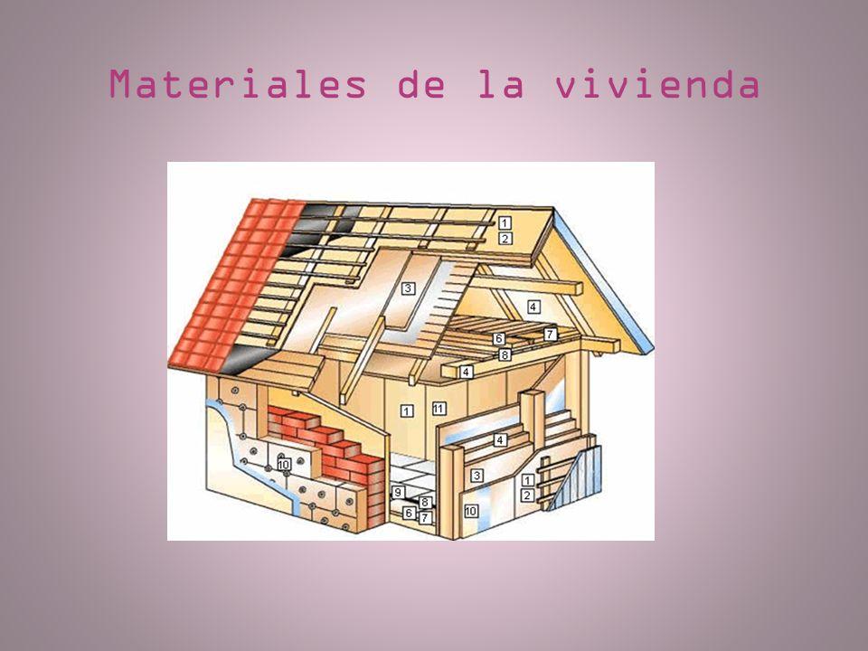 Materiales de la vivienda