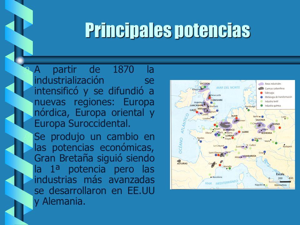 Localización temporal y espacial b b En 1870 la tecnología entró en una nueva fase de cambios, la economía se internacionalizó, a la vez que cambiaron