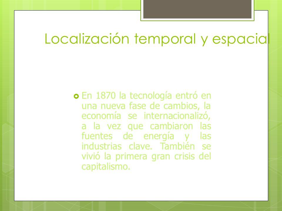 Segunda Revolución Industrial 1.- Localización temporal y espacial.Localización temporal y espacial. 2.- Principales potencias.Principales potencias.
