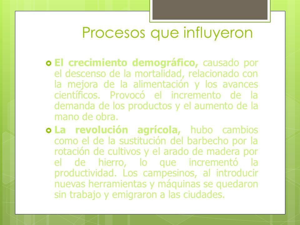 Características Se caracterizó por: - Las innovaciones técnicas se aplicaron actividades económicas. Se inventaron máquinas que permitieron aprovechar