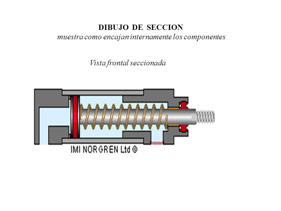DIAGRAMA DE DETALLE muestra las medidas, tolerancias, acabados, etc.