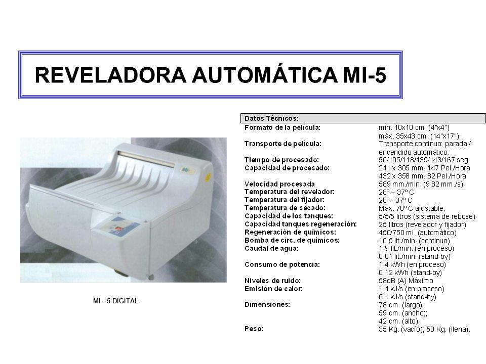 REVELADORA AUTOMÁTICA MI-5 MI - 5 DIGITAL
