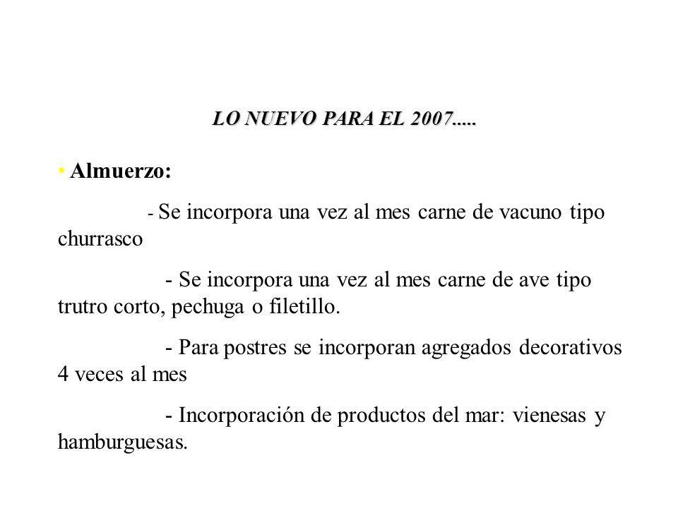 LO NUEVO PARA EL 2007.....