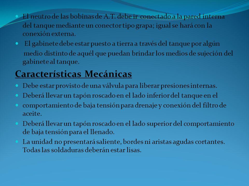 c) Fusible limitador o de respaldo: (Insulation link) para proteger a la red primaria de fallas de alta corriente en los devanados de alta del transfo