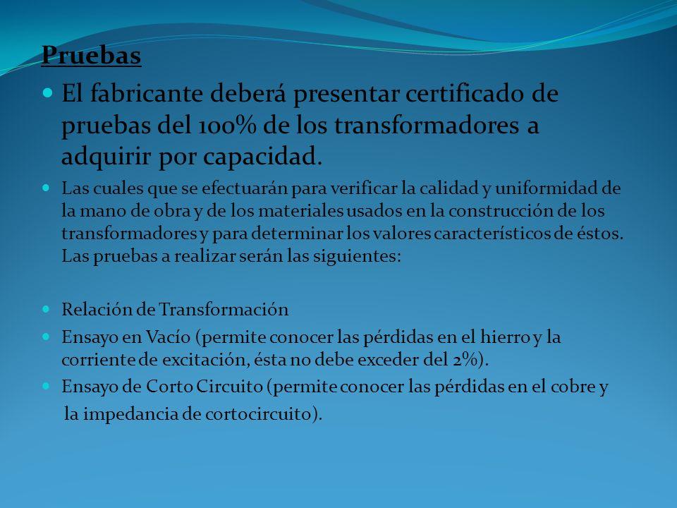 Requisitos de la Materia Prima El fabricante deberá presentar a la compañía que compra el producto, una vez realizada la inspección final, los certifi