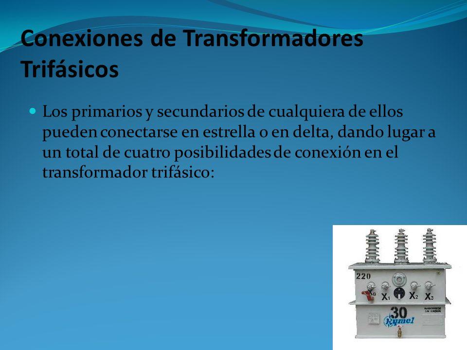 Transformadores Trifásicos En la actualidad, la gran mayoría de los sistemas de distribución y generación de energía, son sistemas trifásicos de CA. U
