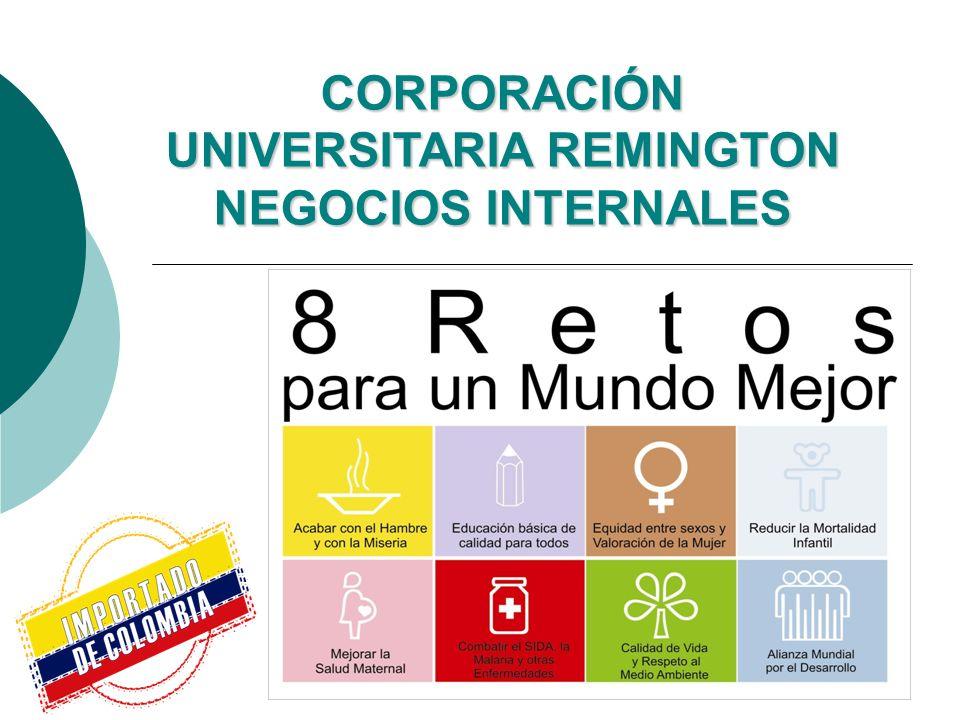 CORPORACIÓN UNIVERSITARIA REMINGTON NEGOCIOS INTERNALES