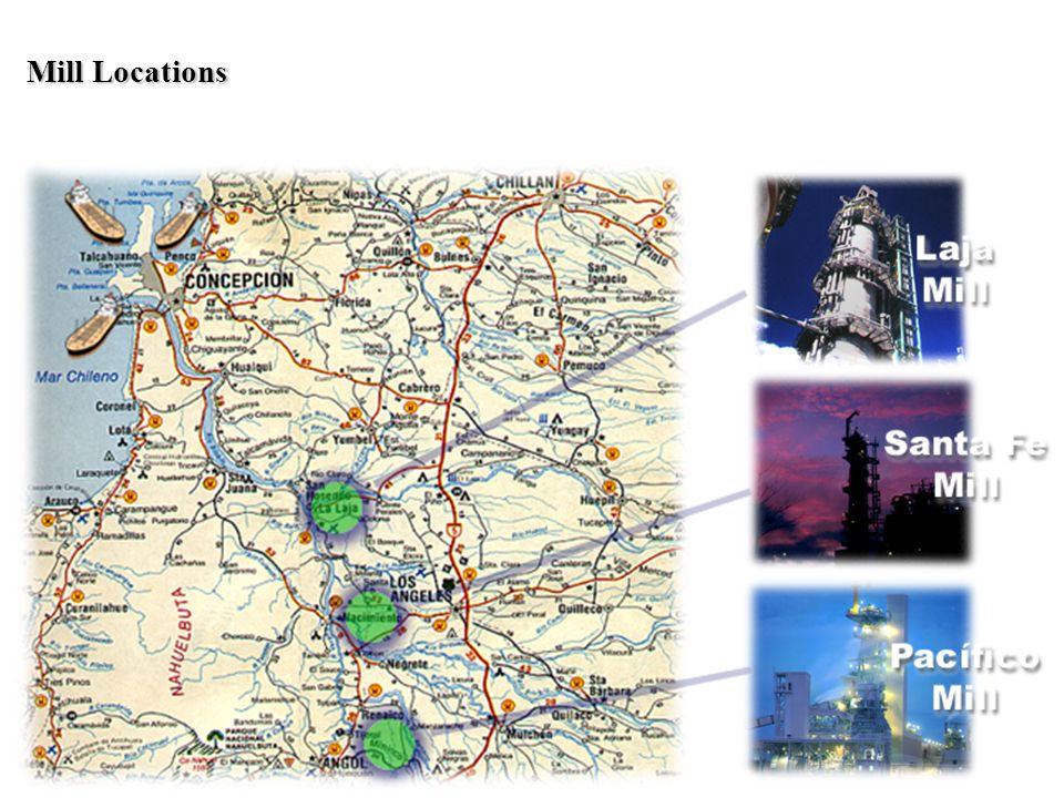 Mill Locations