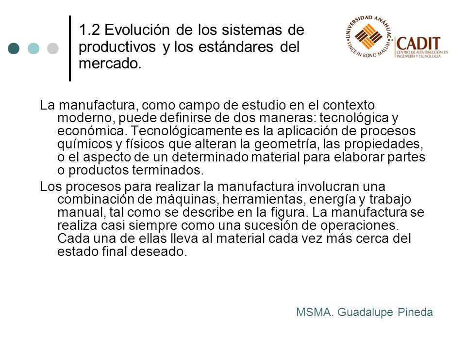 Económicamente, la manufactura es la transformación de materiales en artículos de mayor valor, a través de una o más operaciones o procesos de ensamble, como se muestra en la figura.