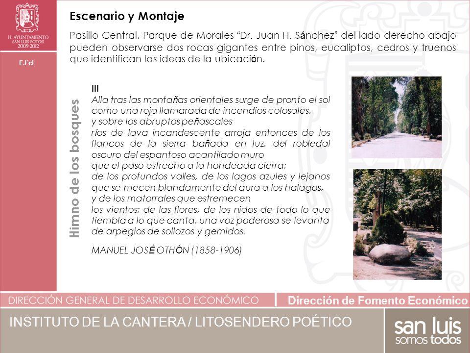 Dirección de Fomento Económico FJ´cl Pasillo Central, Parque de Morales Dr.