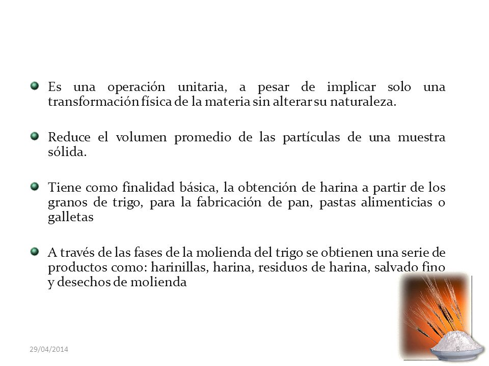 PANIFICACION Pruebas químicas para la determinación de harinas panificables: Indice de acidez Contenido de gluten Prueba de inhibición de gluten Actividad amilásica 29/04/201419