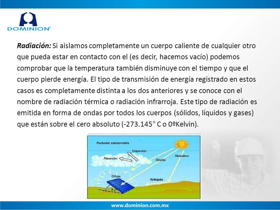 Otras ventajas y aplicaciones 1.Permite detectar fugas de refrigerante o de vapor.