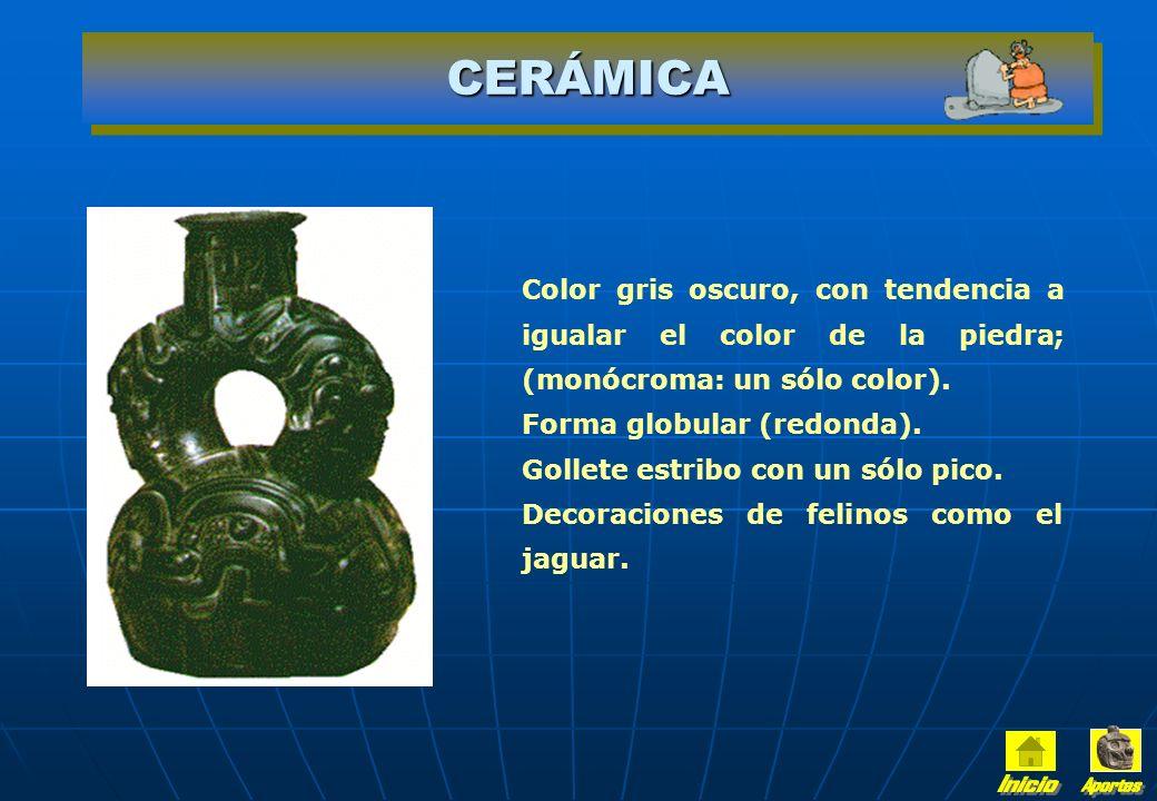 CABEZAS CLAVAS En el Templo Chavín se encuentran esculturas enclavadas en los muros, que tienen formas de cabezas humanas, mezcla de felino y hombre.