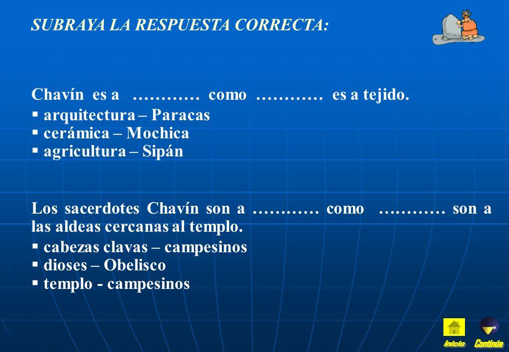 LEE LAS AFIRMACIONES: SI ESTÁN EQUIVOCADAS, CORRÍGELAS ADECUADAMENTE. SI ESTÁN CORRECTAS TRANSCRÍBELAS EN LAS LÍNEAS PUNTEDAS. Los sacerdotes en Chaví