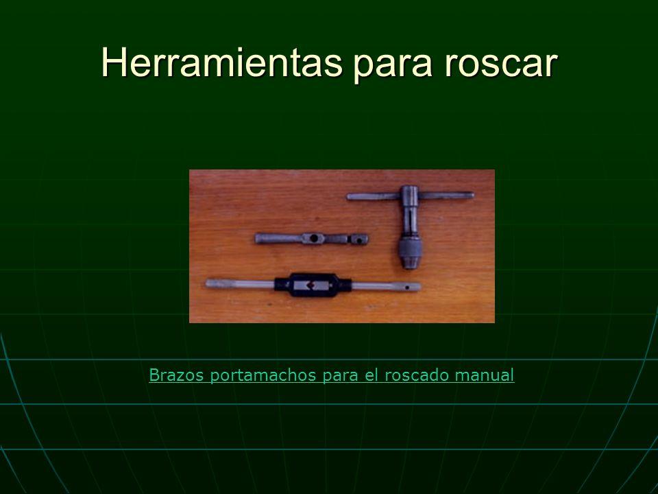 Herramientas para roscar Brazos portamachos para el roscado manual