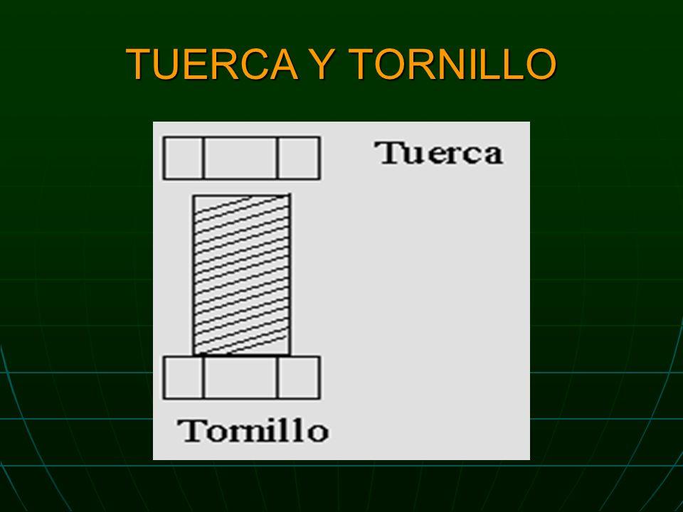 TUERCA Y TORNILLO