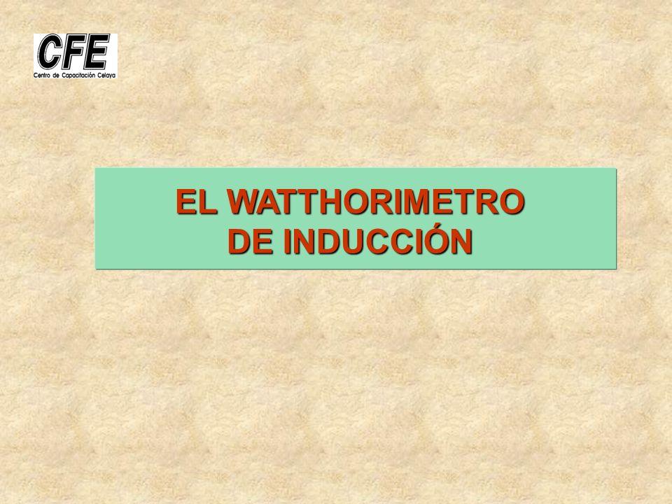 I.- EL WATTHORIMETRO DE INDUCCIÓN EL REGISTRO 4.- EL REGISTRO: Es un Tren de Engranes el cual va acoplado directamente al sinfín de la flecha del ROTOR (o disco) con la finalidad de transmitir el movimiento del disco y así integrar la energía consumida.