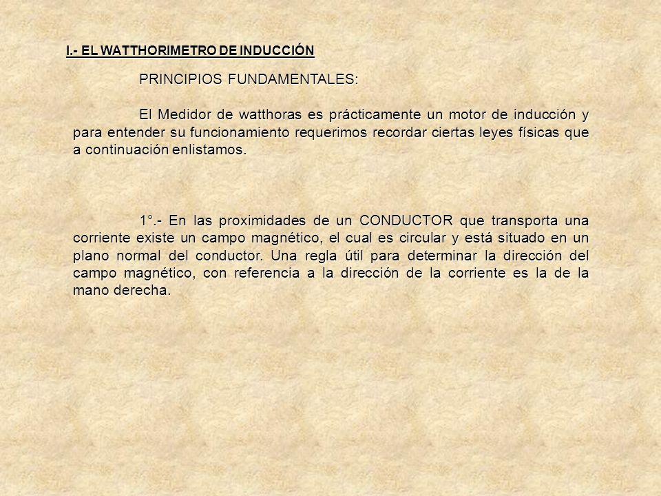 I.- EL WATTHORIMETRO DE INDUCCIÓN EL REGISTRO 4.- EL REGISTRO: Es un Tren de Engranes el cual va acoplado directamente al sinfín de la flecha del ROTO